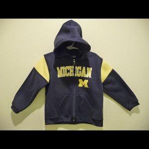 Pro Edge Michigan Wolverines NCAA Youth 3T Hoody